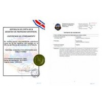 Copyright Patent and Trademark Registrations > New Patent Costa Rica